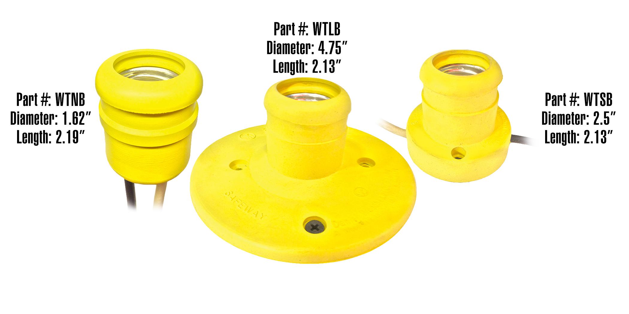 Waterproof LED Sockets