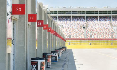 Charlotte Motor Speedway Pit Garages