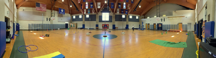 South Shades Crest Elementary Gym After